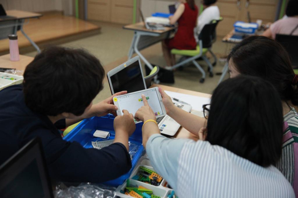 [여성회관] 코딩지도자 자격증과정 수업