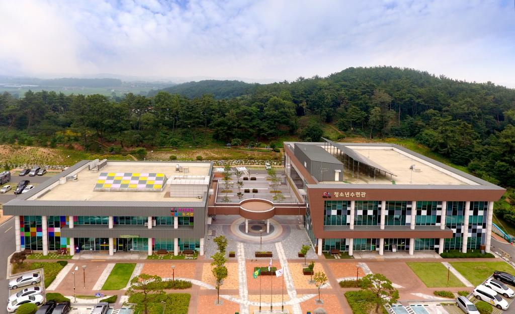 2017년 서산문화복지센터 전경